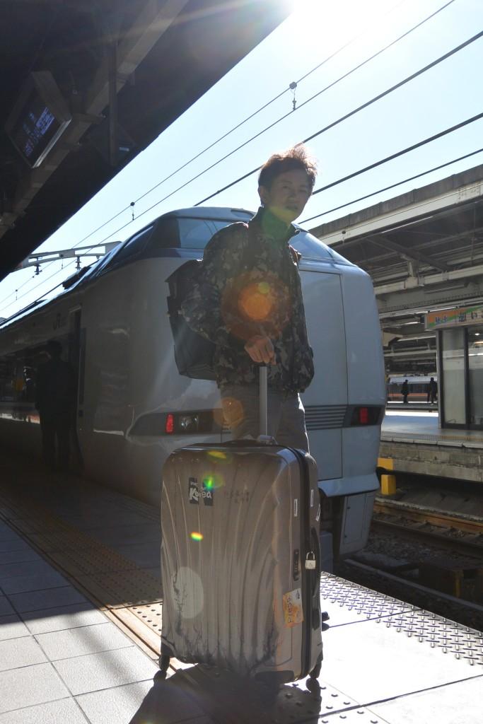 搭乘日本JR