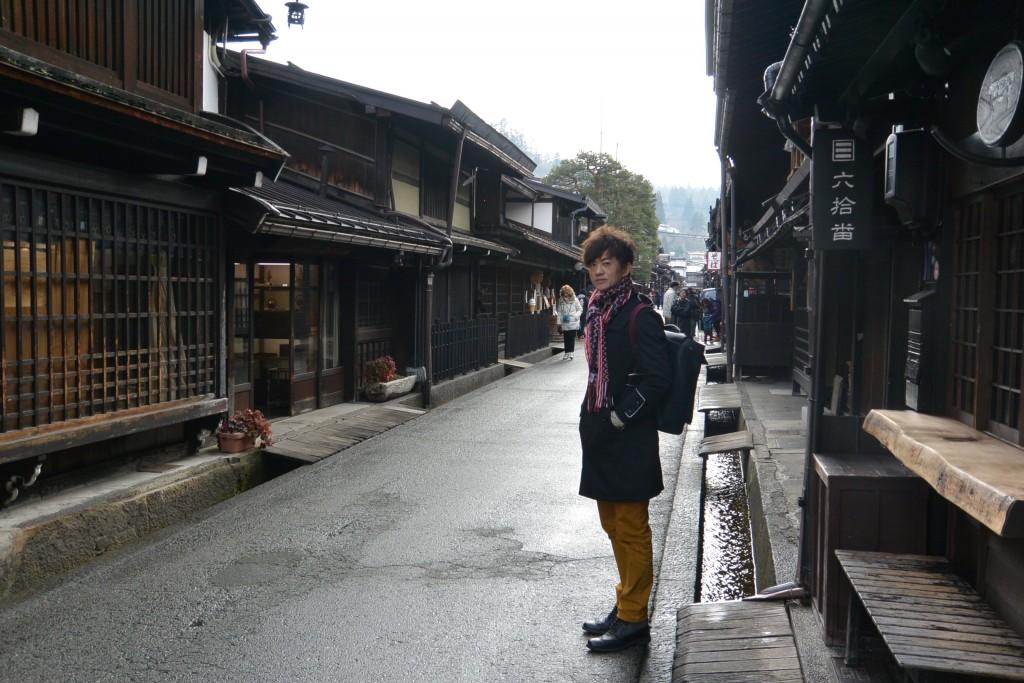 高山的老街屬於江戶時代建築