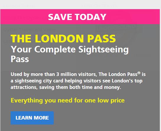 London Pass 優惠代碼2017 :  – London Pass倫敦卡優惠代碼2017 – 全單9折