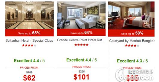 Hotels 優惠碼2017 : 低至3.5折 特色酒店特賣